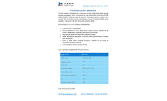 Flat Sheet Ceramic Membrane Brochure