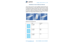 Ultrafiltration Ceramic Membrane Element Brochure