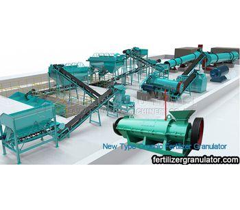 A kind of high efficiency Organic Fertilizer Manufacturing Process