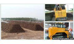 Method of making organic fertilizer from fallen leaves