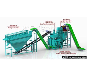 How is commercial NPK fertilizer made into granules?