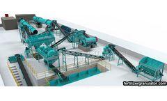 Construction Principles of Organic Fertilizer Production Process Projects
