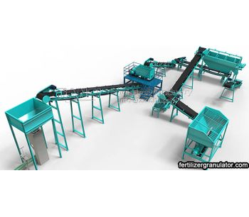 What are the conditions for a set of small organic fertilizer equipment?