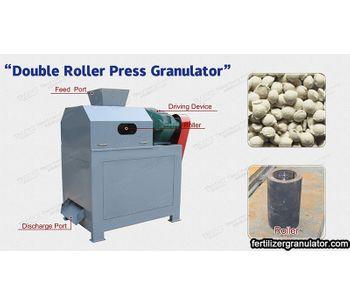 Ammonium chloride roller granulator has good granulation performance
