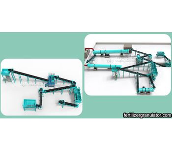 Organic fertilizer production project and workshop configuration