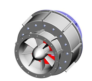 AMJET - Model ATS-32 - Turbine/Generator