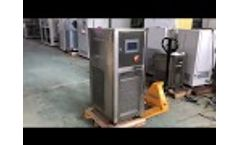 SUNDI series/Dynamic temperature control system / chillers - Video