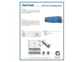 Flat Top Corrugated Wall Steel Tank - Brochure