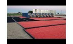 Barricade`s X-Tread Containment Berms in North Dakota - Video