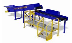 Tuffman - Model QC - Single Sorting Station - Excellent for plastics, papers and other recyclable waste