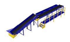 Tuffman - Model TS-T-1003-00-1 - 4-Bin Mini Sorting Station - Excellent for plastics, papers and other light recyclable waste