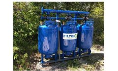 Filter-X - Model FX 2424-3 - Auto Backwashing Sand Filter