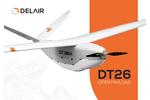 Delair - Model DT26 - Open Payload Drones - Brochure