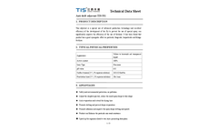 Model 68002-97-1, TIS-331 - Spray Drift Control Agent for Herbicides and Insecticides Brochure