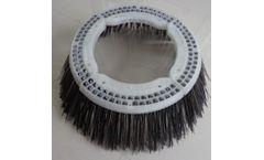 Anhui - Model AHUB82-2 - Segments Gutter Broom Sweeping Brush