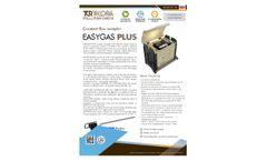 EasyGas - Model Plus - Constant Flow Sampler System - Datasheet