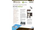 Echo Hi-Vol - Micropollutants High Volume Sampler - Brochure