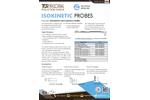 Isokinetic - Standard Integrated Stack Sampling Probes - Datasheet