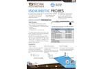 Isokinetic - Model Ministack - Integrated Sampling Probes - Datasheet