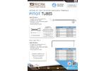 TCR Tecora - Pitot Tubes - Datasheet
