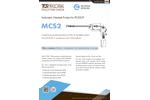 TCR Tecora - Model USEPA MCS2 - Condensing and Adsorbing Device - Datasheet