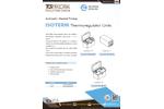 TCR Tecora - Isoterm Thermoregulator Units - Datasheet