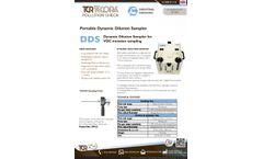 TCR Tecora DDS Portable Dynamic Dilution Sampler - Datasheet