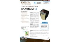 ISOFROST 3 Closed Circuit Portable Chiller - Datasheet