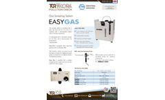EasyGas Gas Sampling System - Datasheet