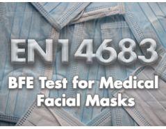 EN14683 Medical Facial Masks BFE Test Kit