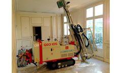 Comacchio - Model GEO 105 - Hydraulic Drilling Rigs