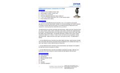 XuYan - Model XY-PTDP - Differential Pressure Transmitter - Datasheet