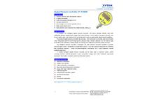 XuYan - Model XY-PC600E - Digital Pressure Controller - Datasheet