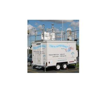 Air quality monitoring for regulatory purposes