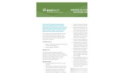 Ecotech Serinus - Model 55 - Hydrogen Sulphide (H2S) Analyzer - Brochure