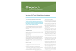 Ecotech Serinus - Model 56 - Total Sulphides Analyser - Brochure