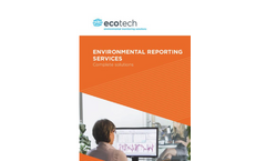 Environmental Reporting Services - Brochure