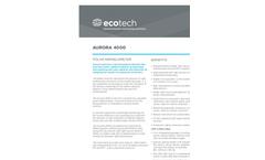 Ecotech - Model Aurora 4000 - Polar Nephelometer - Brochure