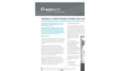 Ecotech - Model ACS1000 - Aerosol Conditioning System - Brochure