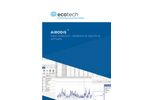 Ecotech - Version Airodis - Data Collection, Validation, Auditing and Reporting Software - Brochure