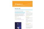MicroVol 1100 Low Volume Air Sampler Brochure