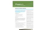 Acoem Ecotech Serinus - Model 10 - Ozone Analyzer - Brochure