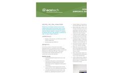 Serinus 44 NH3 Analyser Brochure