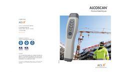 Alcoscan - Passive Breathalyzer - Brochure