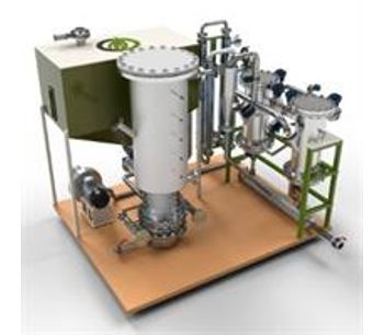 BIO2SynG - Model 100KWTH - Small-Scale Gasifier & Filtering System