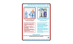 Reverse Osmosis System - Brochure