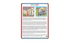 Señor PEX Radiant Cooling Technology Advantages - 4 – Brochure