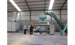 Complete Fish Feed Pellet Production Line Construction Site