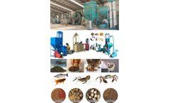 Fish Feed Pellet Extruder Machine For Aquaculture