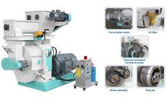 Industrial Ring Die Biomass Wood Pellet Mill Machine